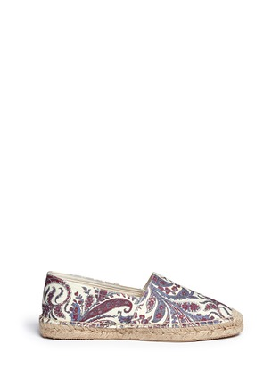 Main View - Click To Enlarge - Isabel Marant Étoile - 'Cana' paisley print cotton espadrille flats