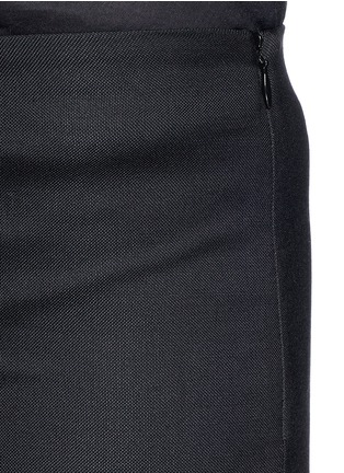 Detail View - Click To Enlarge - The Row - 'Caro' stretch wool hopsack capri pants