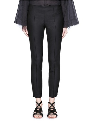 Main View - Click To Enlarge - The Row - 'Caro' stretch wool hopsack capri pants