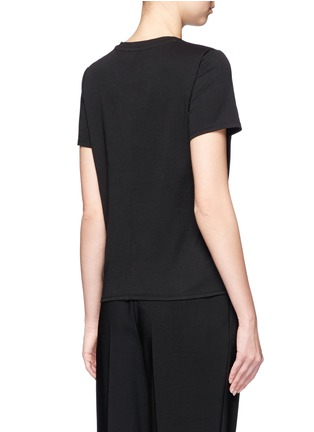 Back View - Click To Enlarge - The Row - 'Wesler' back seam jersey T-shirt