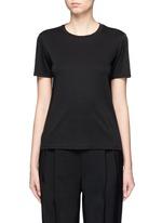 'Wesler' back seam jersey T-shirt
