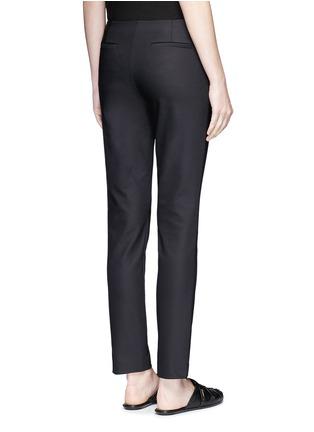 The Row-'Tips' techno cotton-blend slim straight pants