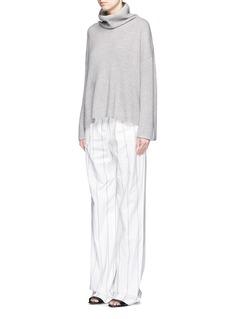 THE ROW'Kaima' cashmere-silk turtleneck sweater