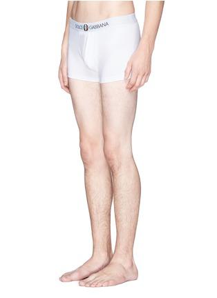 Dolce & Gabbana-'Sport Crest' cotton boxer briefs