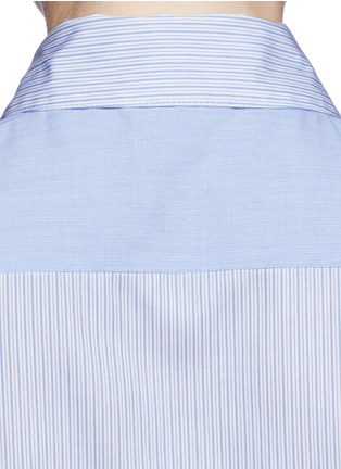 Detail View - Click To Enlarge - Equipment - 'Mina Tie Front' stripe sleeveless shirt