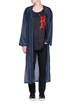 'Vellano' dancer print silk robe