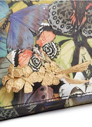 Detail View - Click To Enlarge - Valentino - 'Camubutterfly Va Va Voom' nappa leather bag