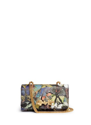 Main View - Click To Enlarge - Valentino - 'Camubutterfly Va Va Voom' nappa leather bag