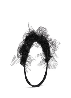 YUNOTME BY GLORIA YU 'Fanflare' gauze flare crown headband