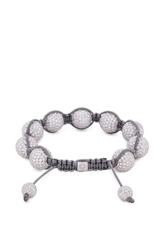 Shamballa Jewels 'Shamballa' diamond 18k white gold bracelet