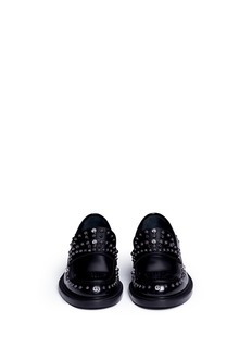 Jimmy Choo 'Don' stud leather loafers