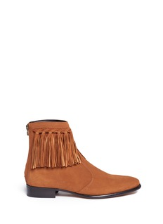 Jimmy Choo 'Eric' fringed suede boots
