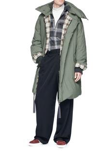 Lanvin Detachable hood down jacket