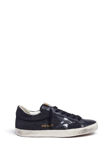 Golden Goose 'Superstar' star patch corded sneakers