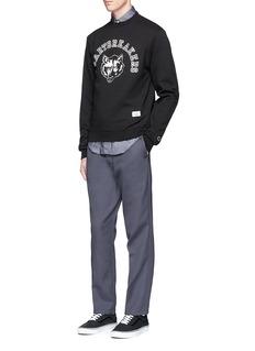 BEDWIN & THE HEARTBREAKERS'Lou' wolf print sweatshirt