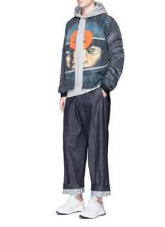 Christopher KaneTarget print bomber jacket