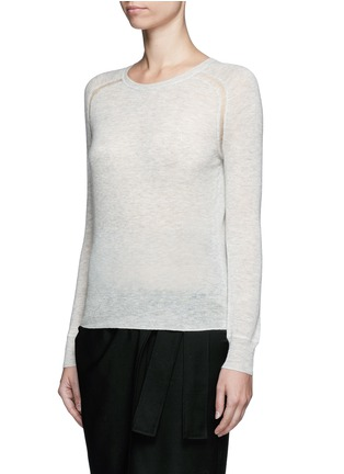 Front View - Click To Enlarge - Isabel Marant Étoile - 'Foty' alpaca-Merino wool sweater