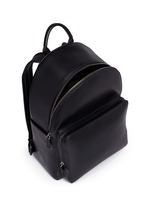 'Wink' perforated leather backpack