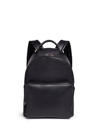 Main View - Click To Enlarge - Anya Hindmarch - 'Wink' perforated leather backpack