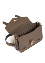'PS1' mini leather crossbody satchel