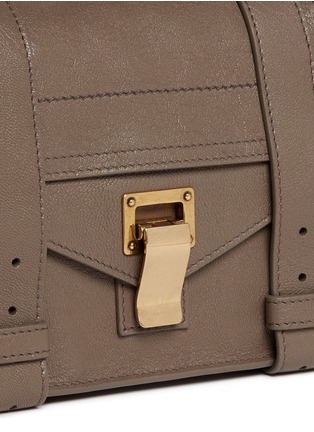Detail View - Click To Enlarge - Proenza Schouler - 'PS1' mini leather crossbody satchel