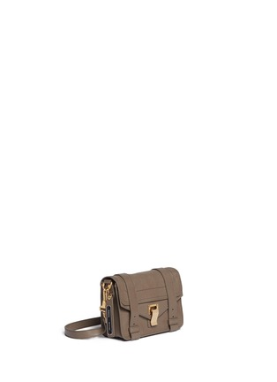Front View - Click To Enlarge - Proenza Schouler - 'PS1' mini leather crossbody satchel