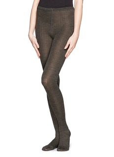 HANSEL FROM BASEL Rib wool-blend tights