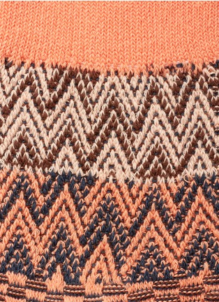 Detail View - Click To Enlarge - HANSEL FROM BASEL - Collage knit crew socks