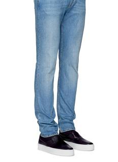 Facto'Mercury' lambskin leather skate slip-ons