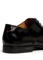 'Starling' spazzolato leather Oxfords