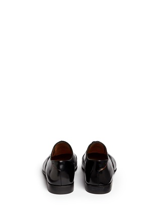 Back View - Click To Enlarge - Paul Smith - 'Starling' spazzolato leather Oxfords