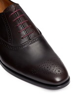 'Gilbert' brogue leather Oxfords