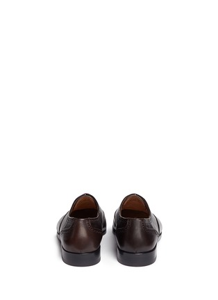 Back View - Click To Enlarge - Paul Smith - 'Gilbert' brogue leather Oxfords