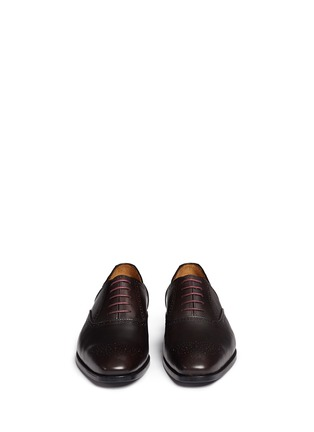 Front View - Click To Enlarge - Paul Smith - 'Gilbert' brogue leather Oxfords