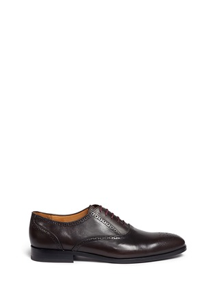 Main View - Click To Enlarge - Paul Smith - 'Gilbert' brogue leather Oxfords