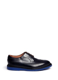 Paul Smith 'Grand' brogue leather derbies