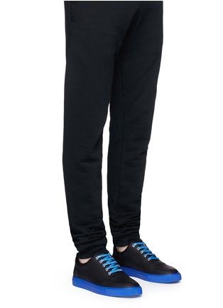 Figure View - Click To Enlarge - Harrys Of London - 'Mr Jones 2' contrast sole sneakers
