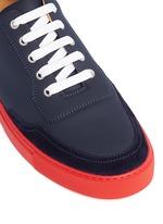 'Mr Jones 2' suede trim tech leather sneakers