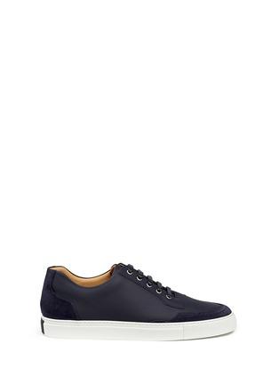 Harrys Of London-'Mr Jones 2' suede trim tech leather sneakers