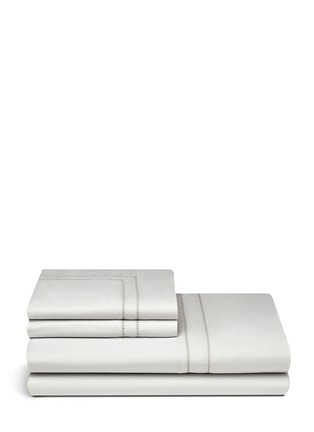 Main View - Click To Enlarge - Frette - Doppio Ajour king size duvet set