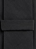 Monkey print cotton tie