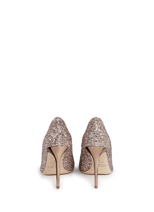 Back View - Click To Enlarge - Jimmy Choo - 'Abel' coarse glitter pumps