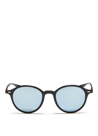 Main View - Click To Enlarge - Ray-Ban - 'RB4237 Liteforce' mirror sunglasses