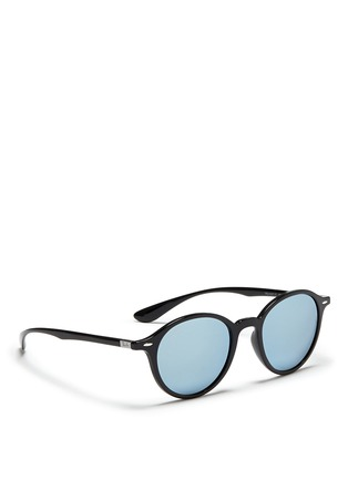 Figure View - Click To Enlarge - Ray-Ban - 'RB4237 Liteforce' mirror sunglasses