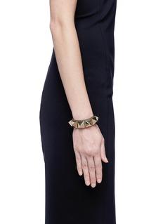VALENTINO'Rockstud' macro leather bracelet