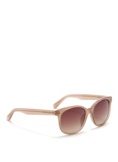 LINDA FARROW Round acetate sunglasses