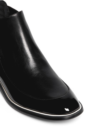 Detail View - Click To Enlarge - Nicholas Kirkwood - Leather ankle Chelsea boots