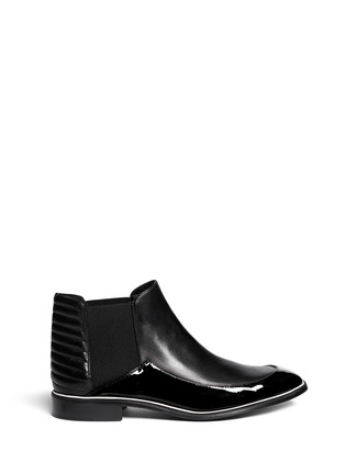 Main View - Click To Enlarge - Nicholas Kirkwood - Leather ankle Chelsea boots