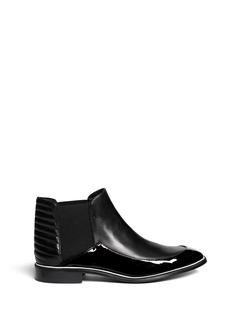 NICHOLAS KIRKWOODLeather ankle Chelsea boots