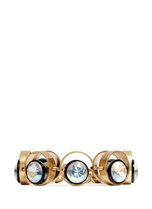 Main View - Click To Enlarge - J.CREW - Circular crystal bracelet